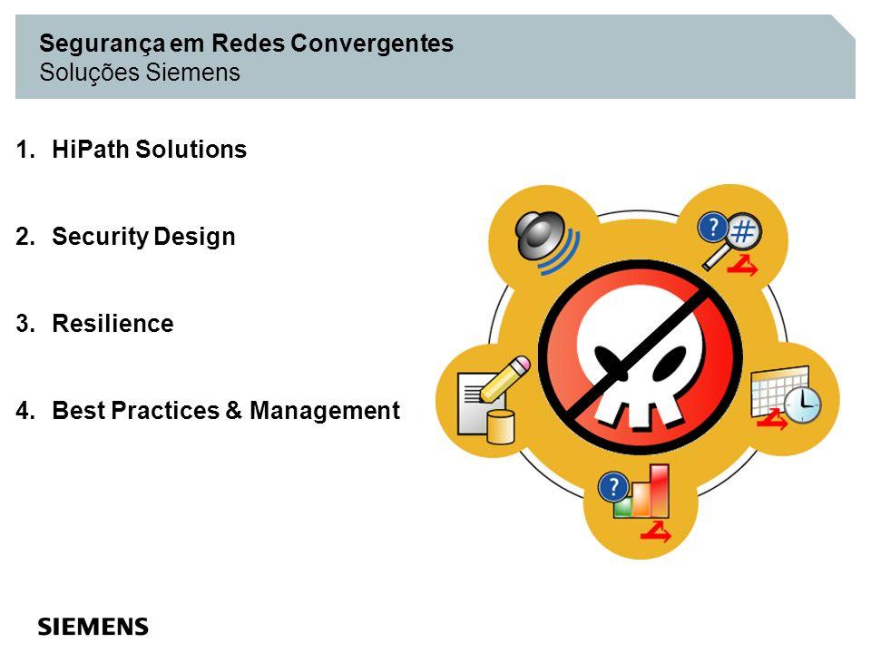 Segurança em Redes Convergentes Soluções Siemens