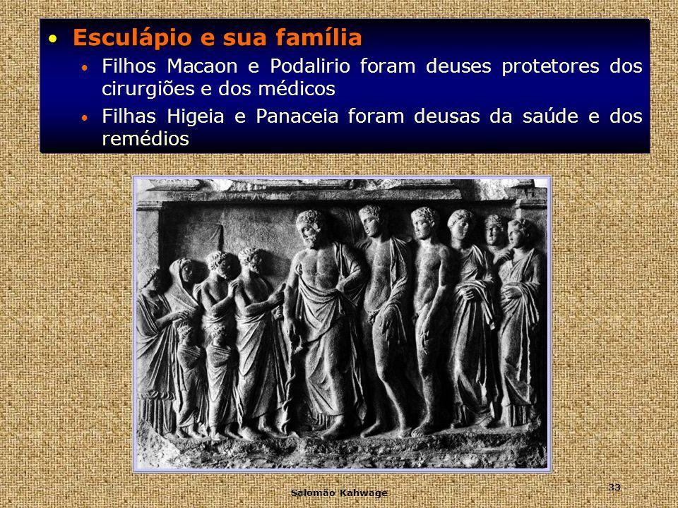 Esculápio e sua família