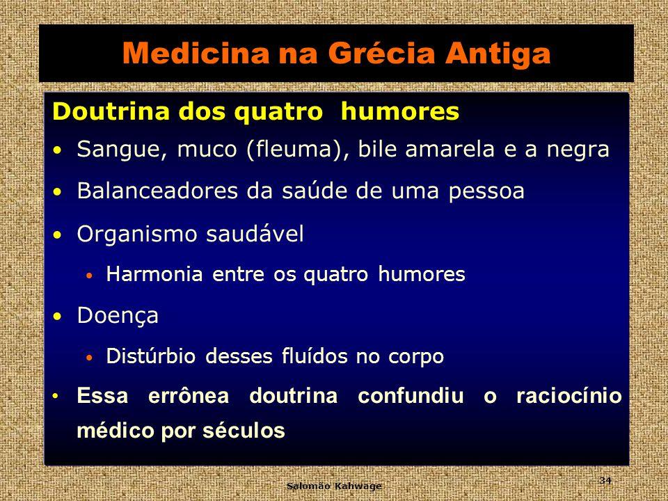 Medicina na Grécia Antiga