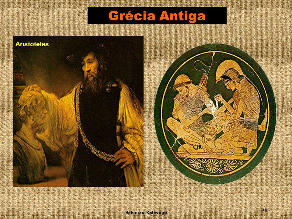 Grécia Antiga Aristoteles Salomão Kahwage