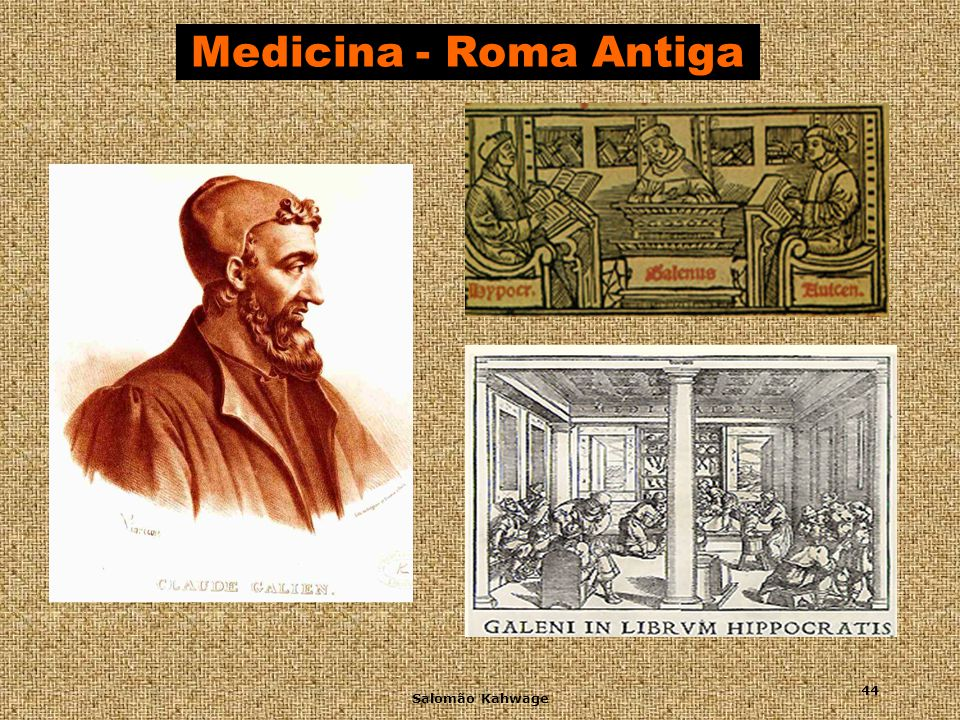 Medicina - Roma Antiga Salomão Kahwage