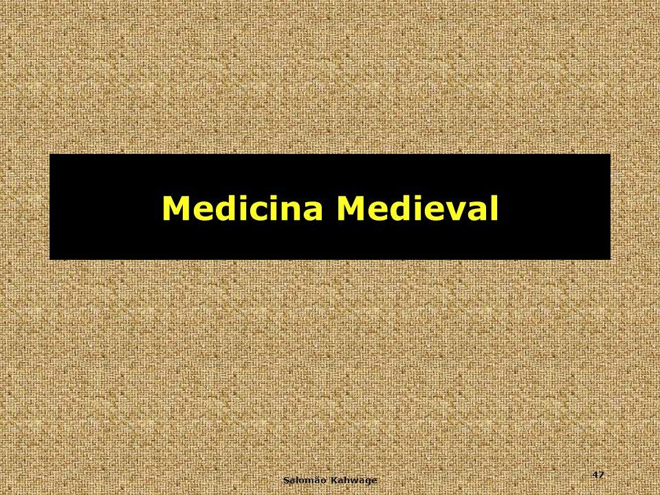 Medicina Medieval Salomão Kahwage