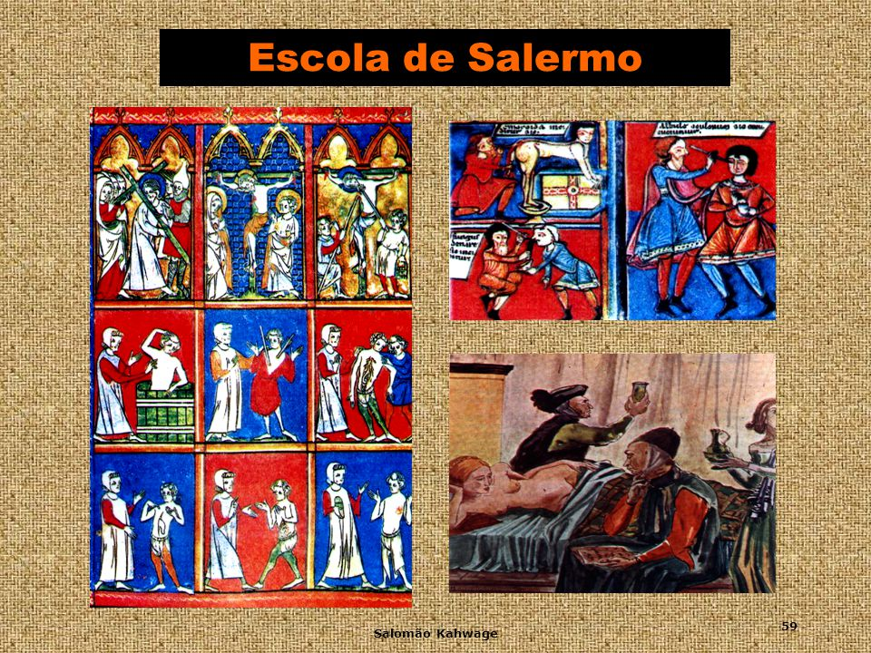 Escola de Salermo Salomão Kahwage