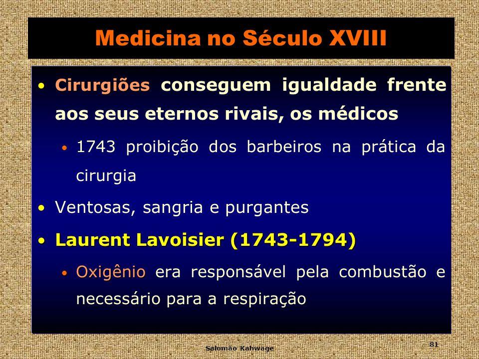 Medicina no Século XVIII