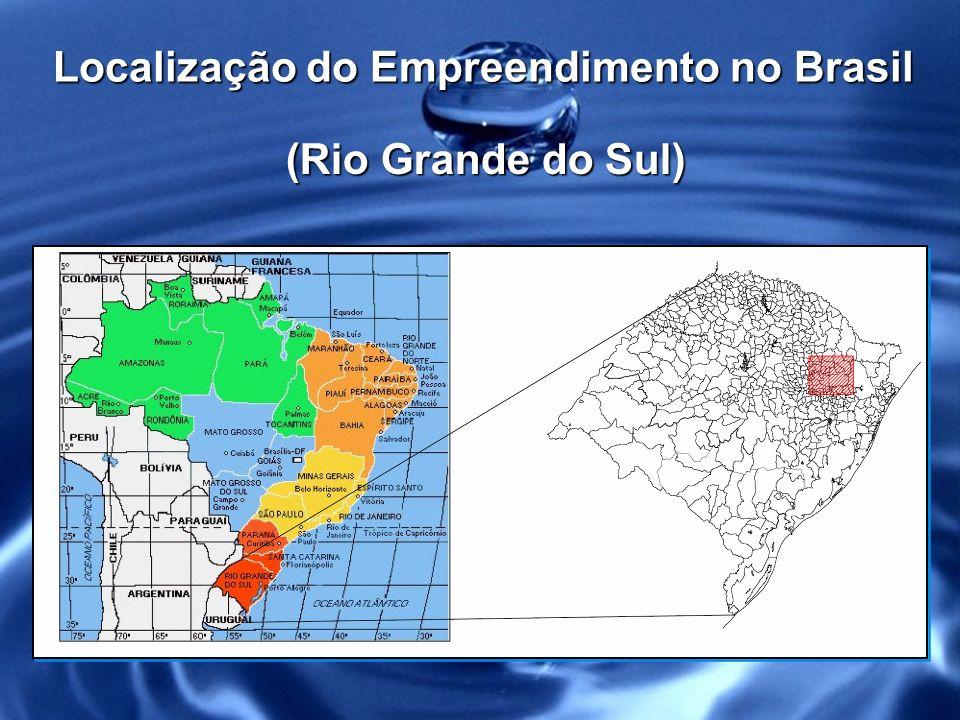 Localização do Empreendimento no Brasil