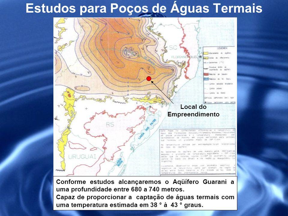 Estudos para Poços de Águas Termais