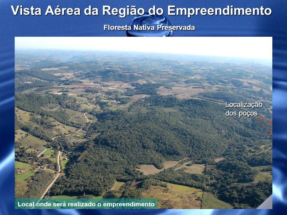 Vista Aérea da Região do Empreendimento