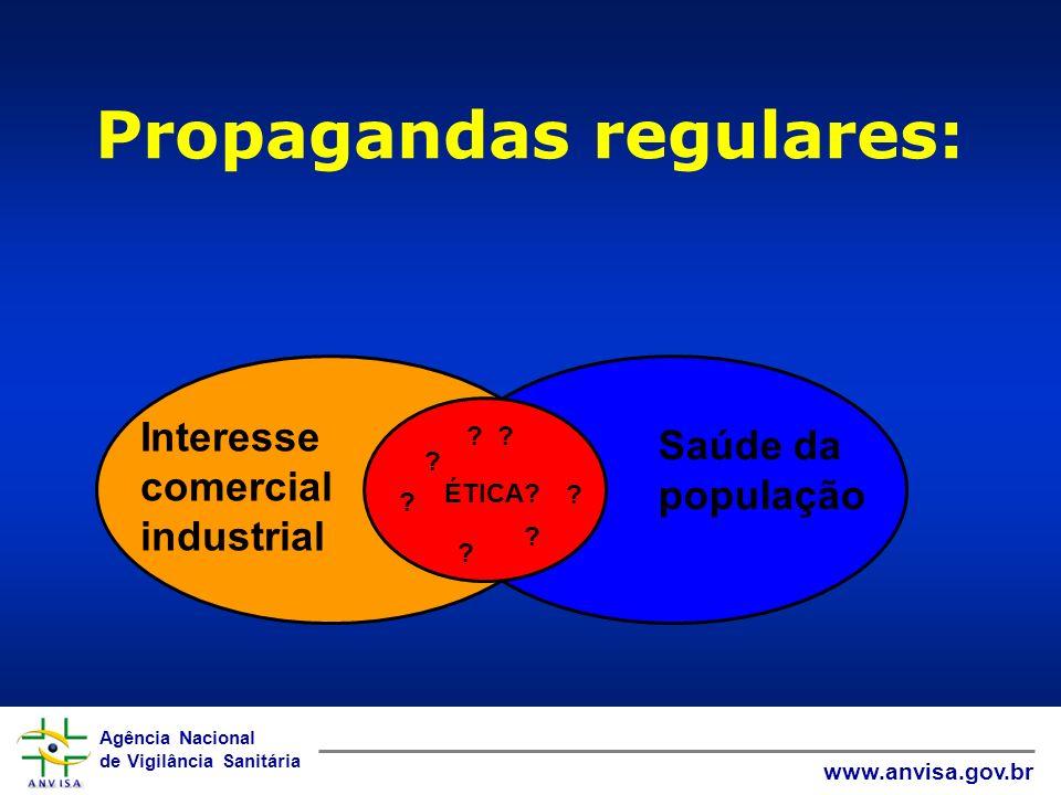 Propagandas regulares: