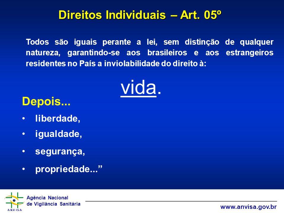 Direitos Individuais – Art. 05º