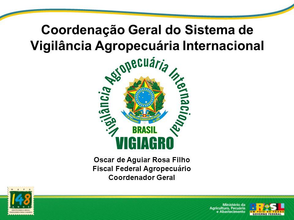 Coordenação Geral do Sistema de Vigilância Agropecuária Internacional