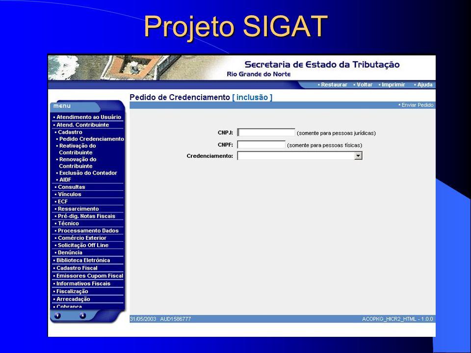 Projeto SIGAT
