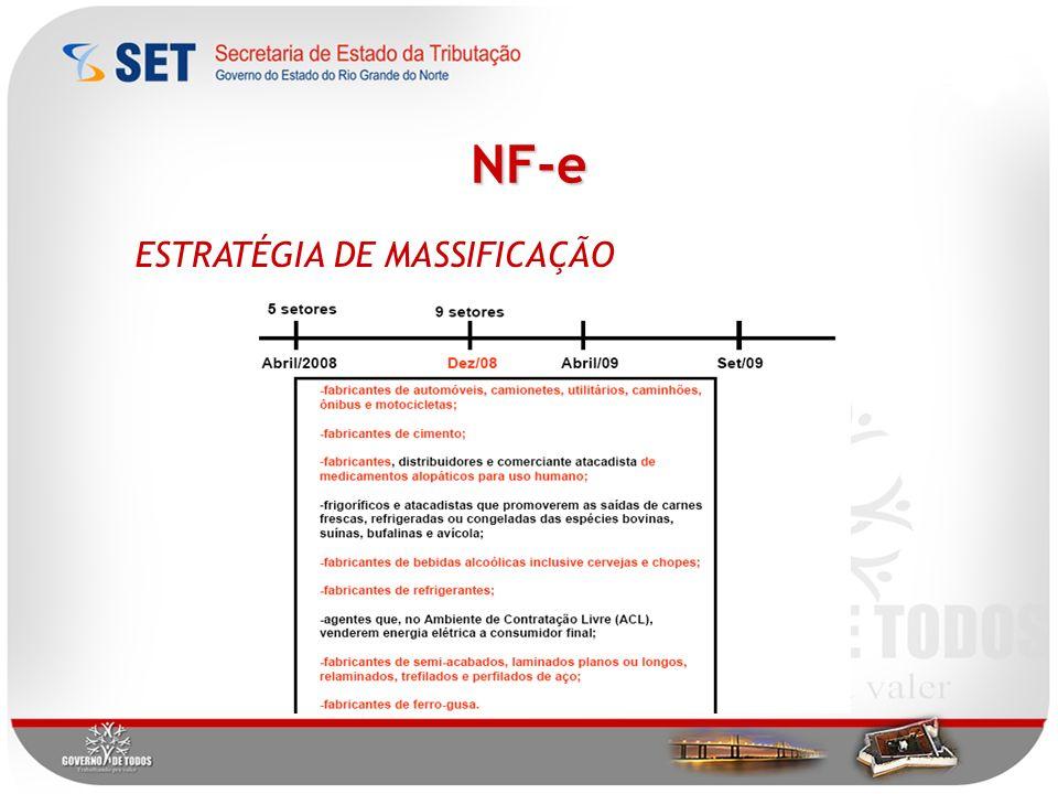 NF-e ESTRATÉGIA DE MASSIFICAÇÃO