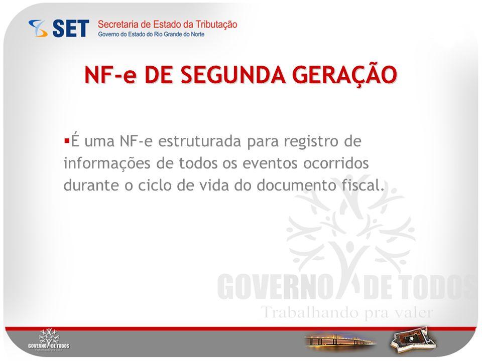 NF-e DE SEGUNDA GERAÇÃO