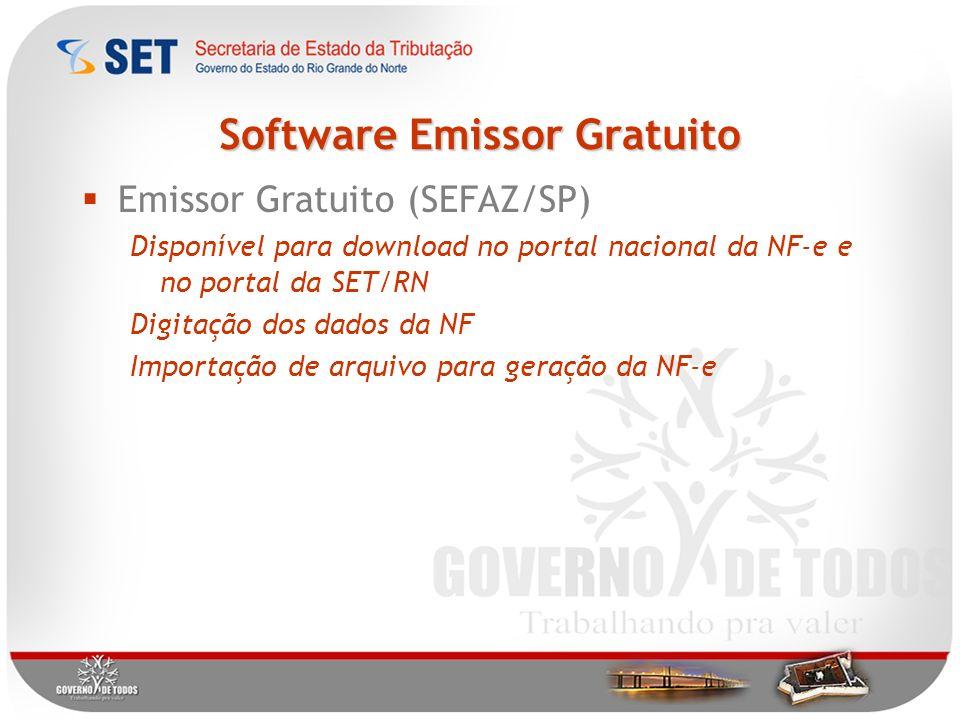 Software Emissor Gratuito
