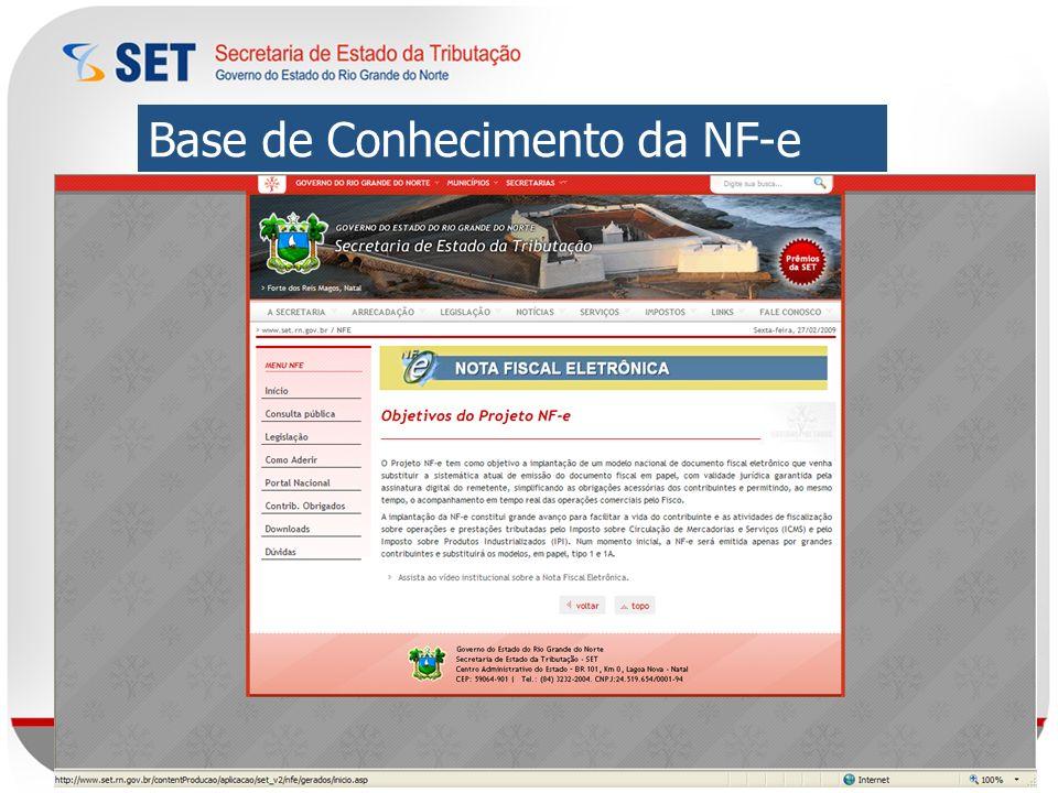 Base de Conhecimento da NF-e