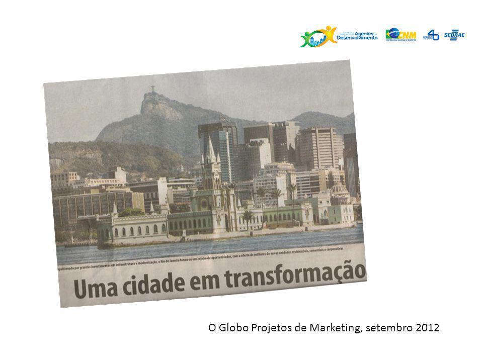 O Globo Projetos de Marketing, setembro 2012