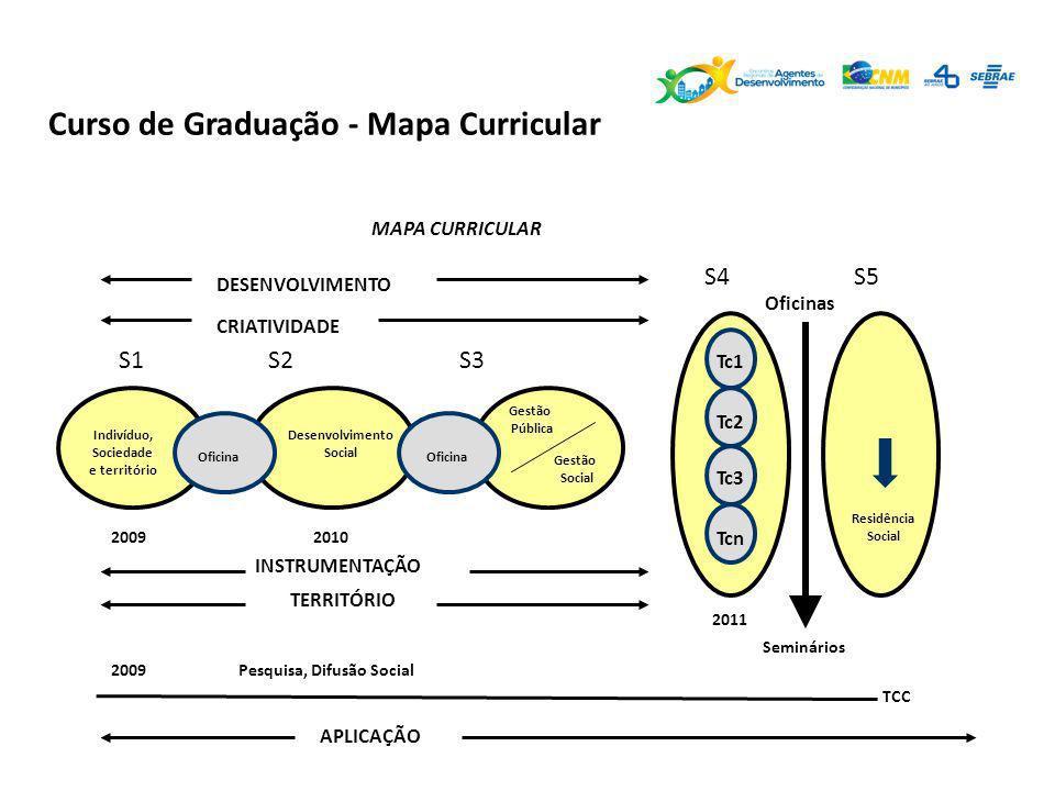 Curso de Graduação - Mapa Curricular