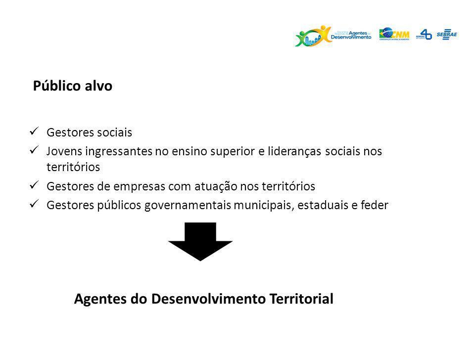 Agentes do Desenvolvimento Territorial