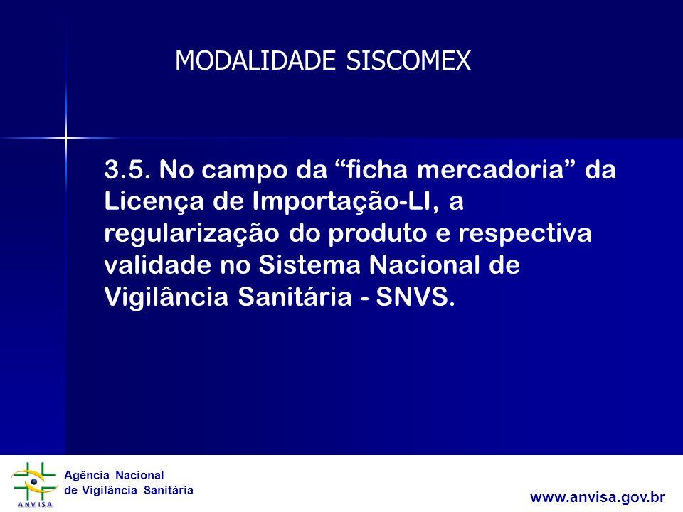 MODALIDADE SISCOMEX