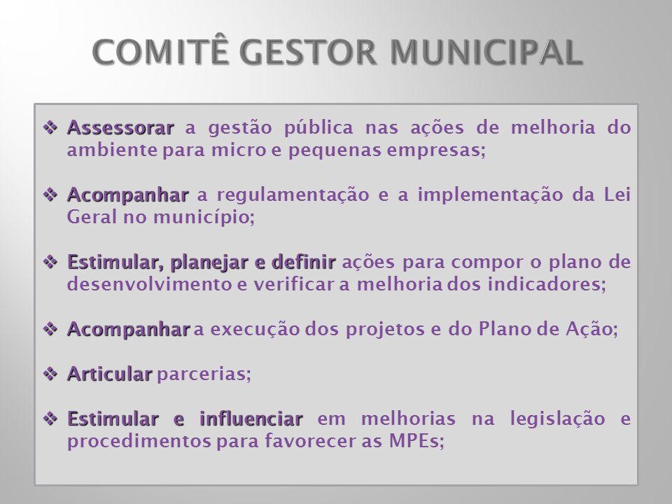 COMITÊ GESTOR MUNICIPAL