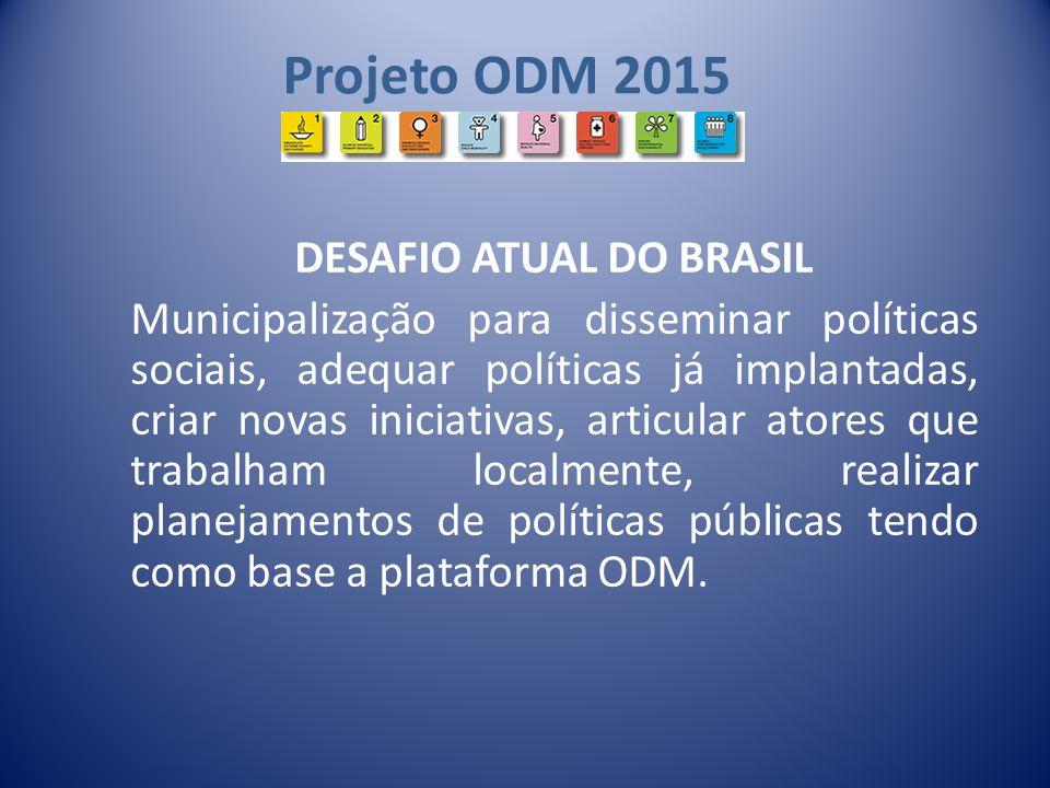 DESAFIO ATUAL DO BRASIL