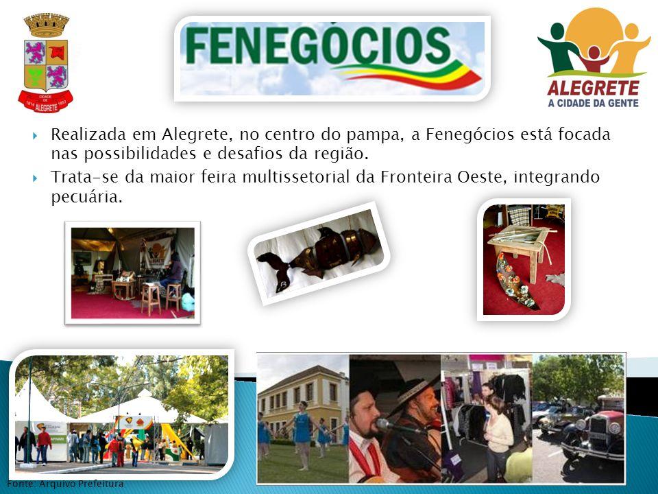 Realizada em Alegrete, no centro do pampa, a Fenegócios está focada nas possibilidades e desafios da região.