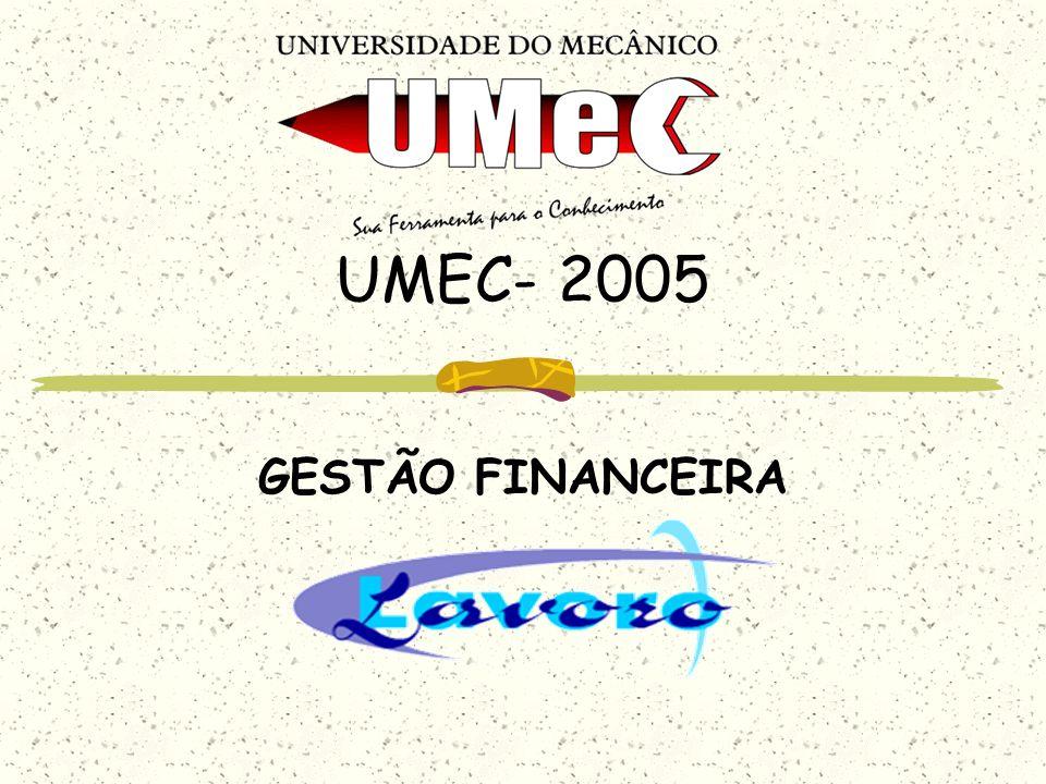 UMEC- 2005 GESTÃO FINANCEIRA