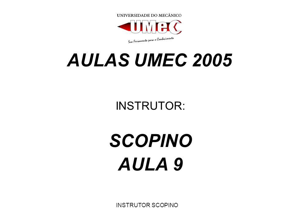 INSTRUTOR: SCOPINO AULA 9