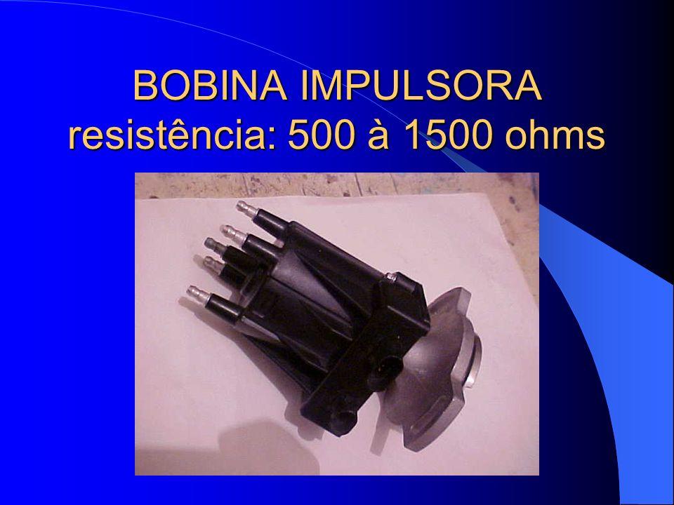 BOBINA IMPULSORA resistência: 500 à 1500 ohms