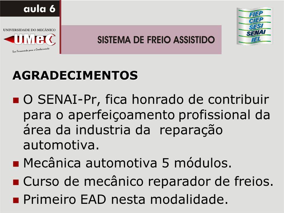 Mecânica automotiva 5 módulos. Curso de mecânico reparador de freios.