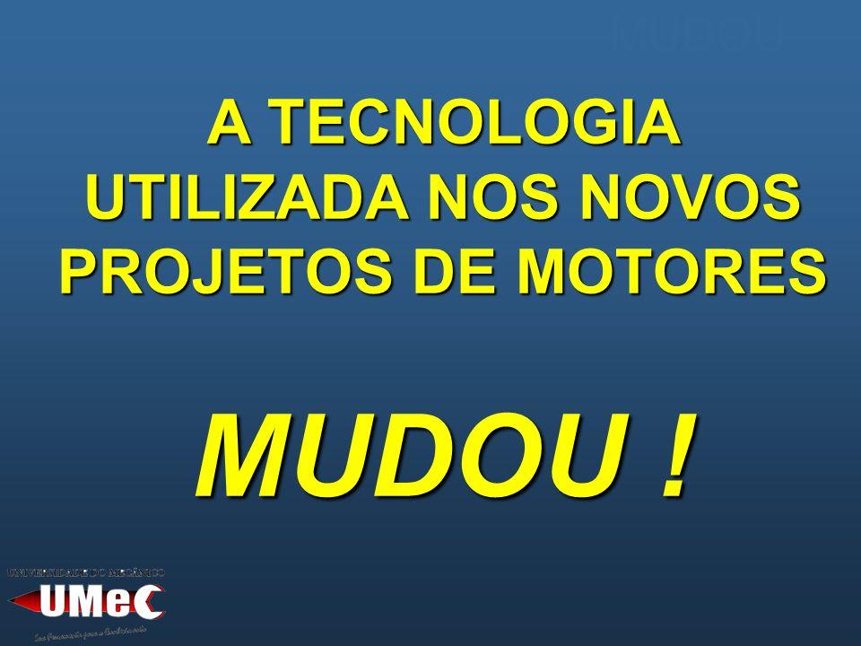 A TECNOLOGIA UTILIZADA NOS NOVOS PROJETOS DE MOTORES MUDOU !