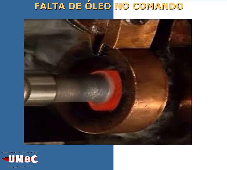 FALTA DE ÓLEO NO COMANDO