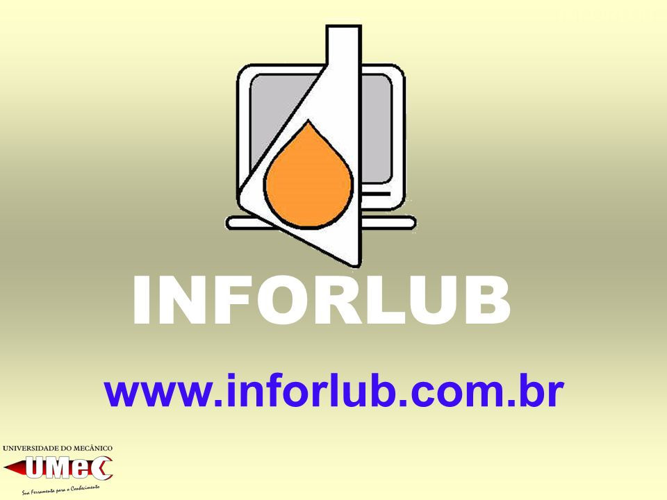 INFORLUB INFORLUB www.inforlub.com.br