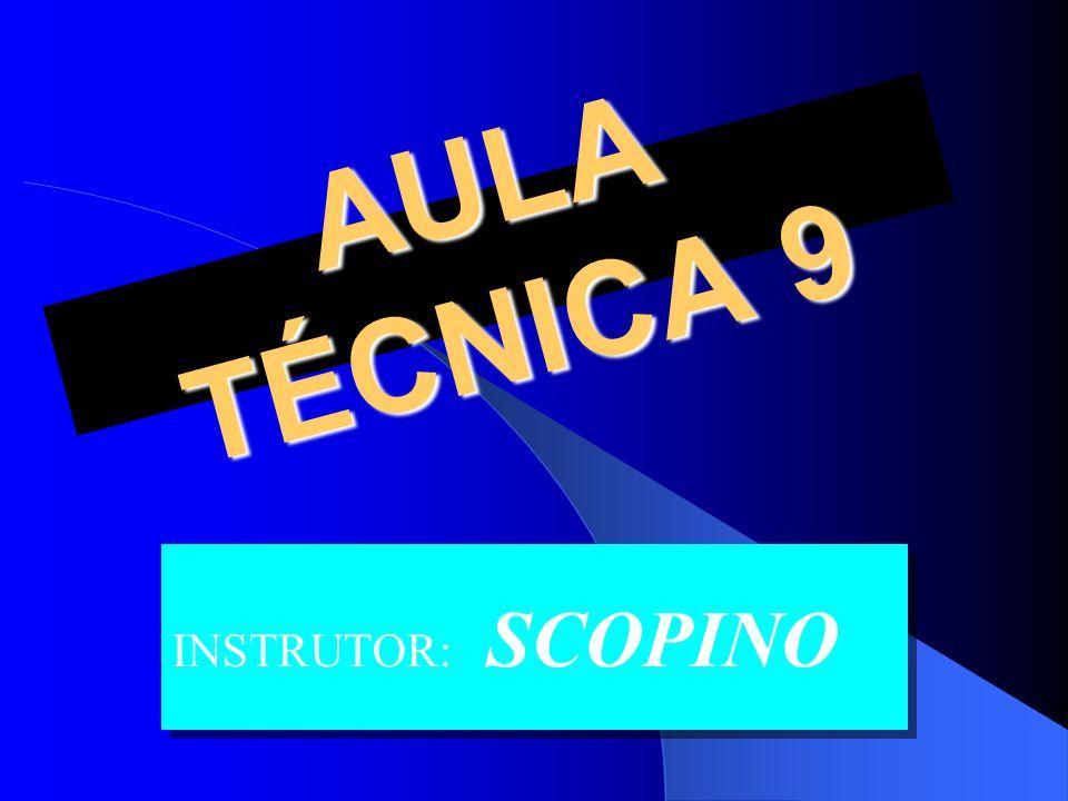 AULA TÉCNICA 9 INSTRUTOR: SCOPINO