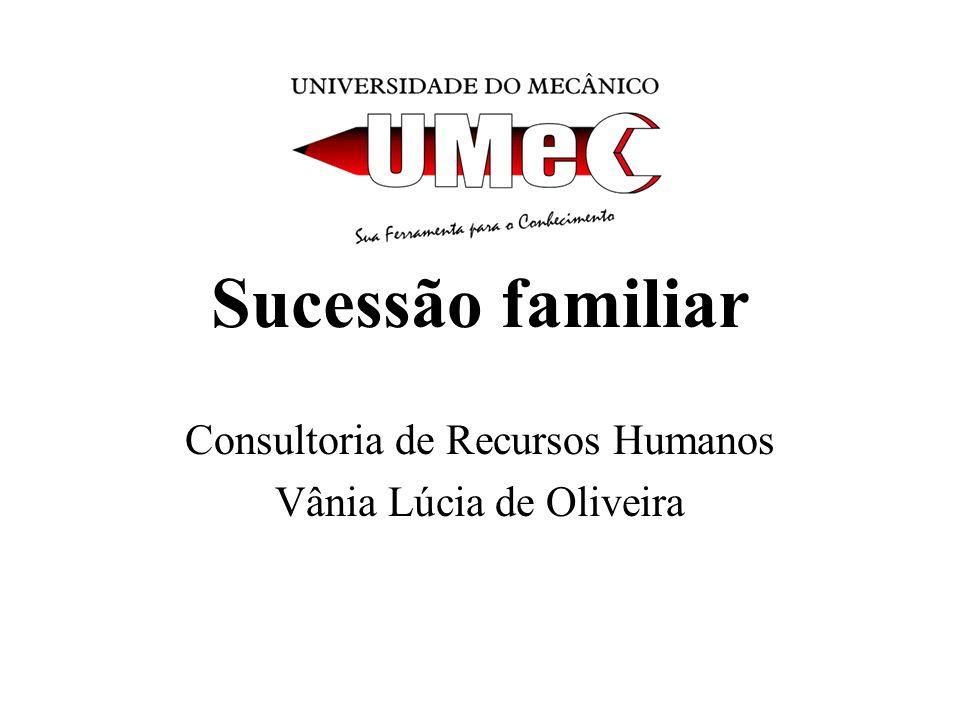 Consultoria de Recursos Humanos Vânia Lúcia de Oliveira