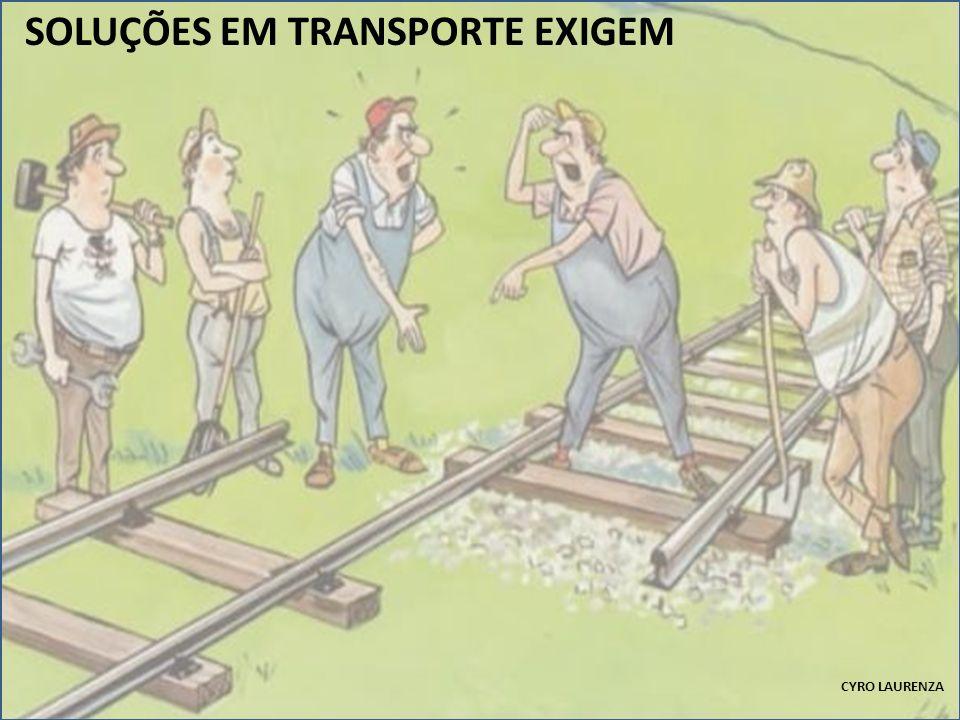 SOLUÇÕES EM TRANSPORTE EXIGEM