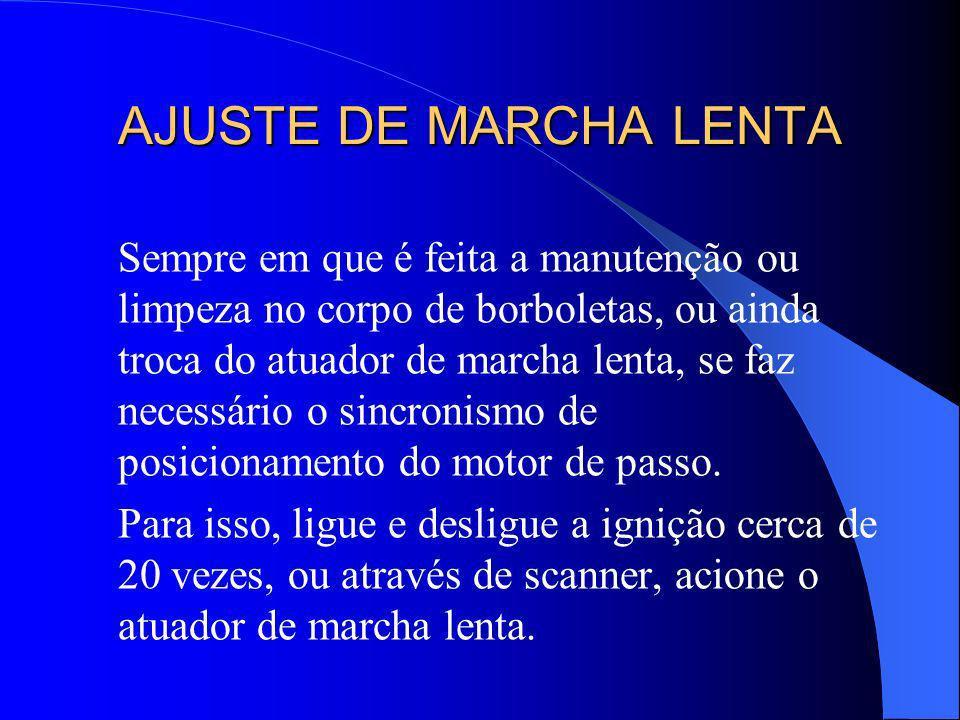 AJUSTE DE MARCHA LENTA