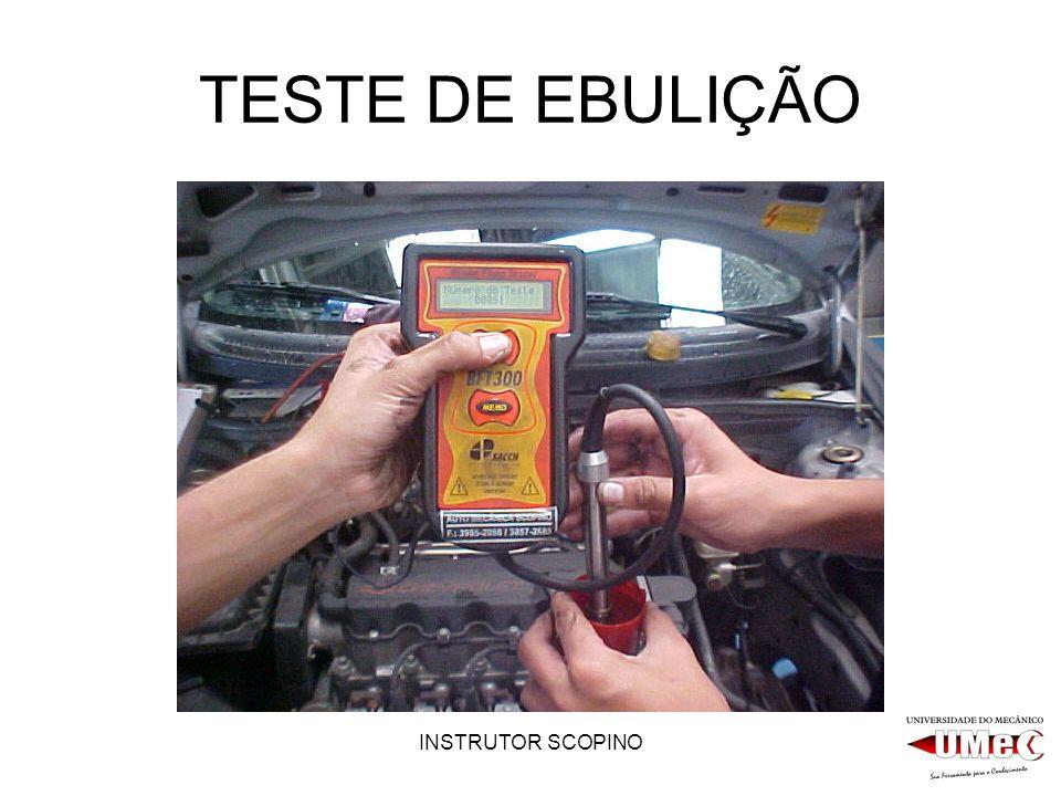 TESTE DE EBULIÇÃO INSTRUTOR SCOPINO