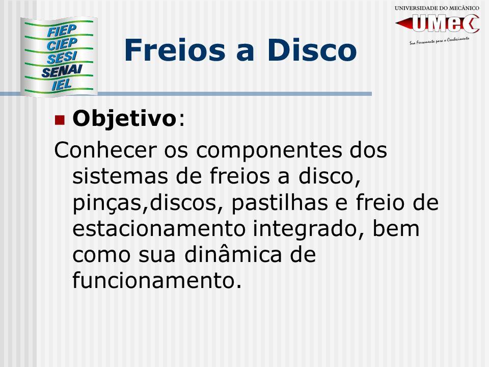 Freios a Disco Objetivo:
