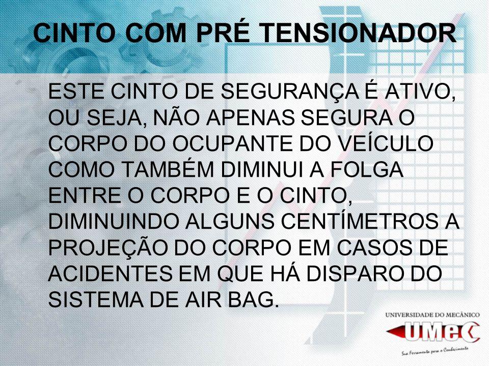 CINTO COM PRÉ TENSIONADOR