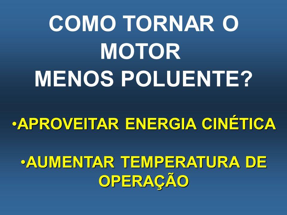 APROVEITAR ENERGIA CINÉTICA AUMENTAR TEMPERATURA DE OPERAÇÃO