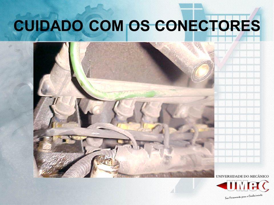 CUIDADO COM OS CONECTORES