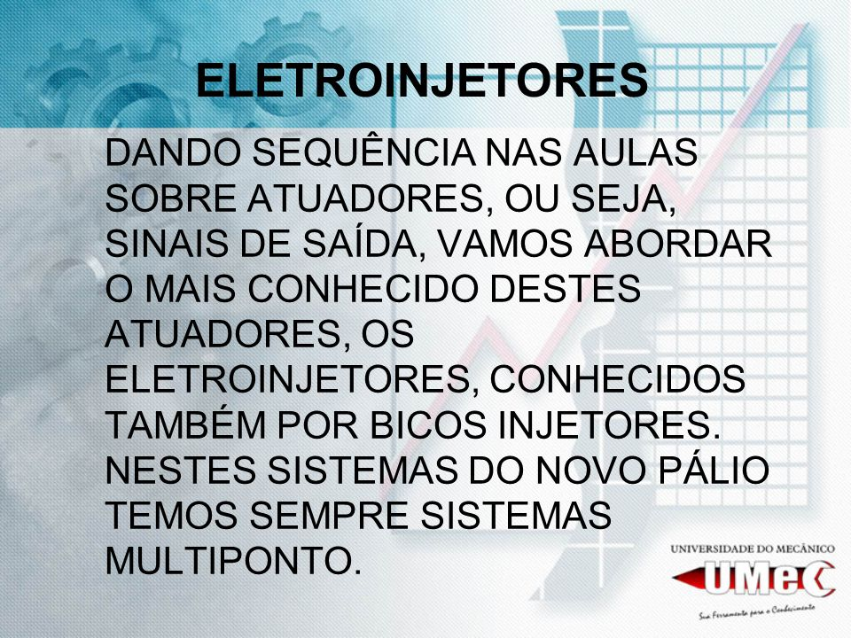 ELETROINJETORES