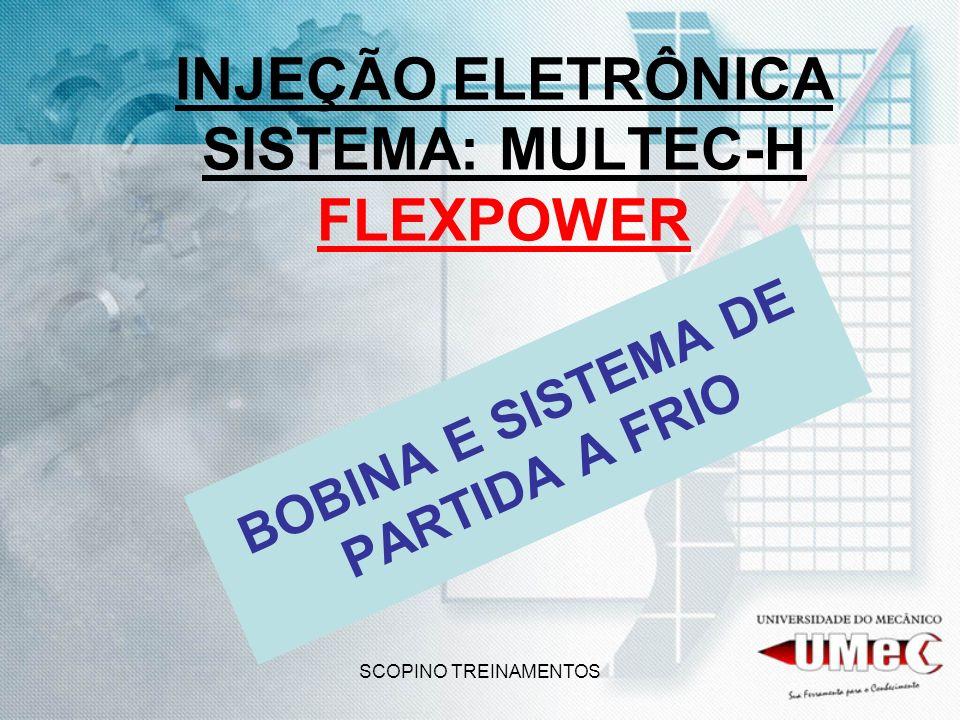 INJEÇÃO ELETRÔNICA SISTEMA: MULTEC-H FLEXPOWER