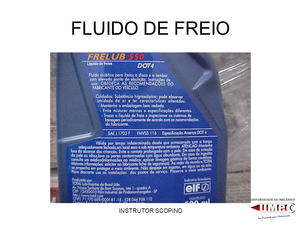 FLUIDO DE FREIO INSTRUTOR SCOPINO