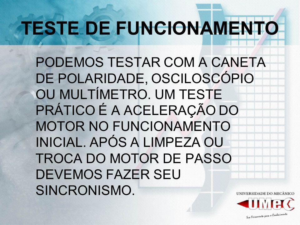TESTE DE FUNCIONAMENTO