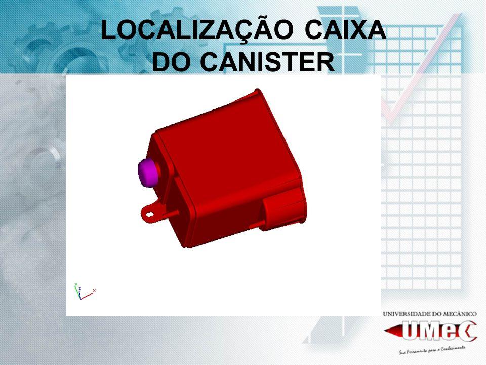 LOCALIZAÇÃO CAIXA DO CANISTER