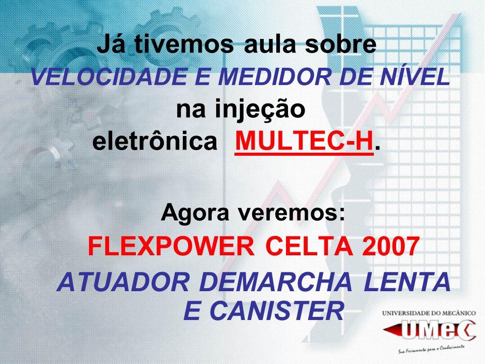 ATUADOR DEMARCHA LENTA E CANISTER