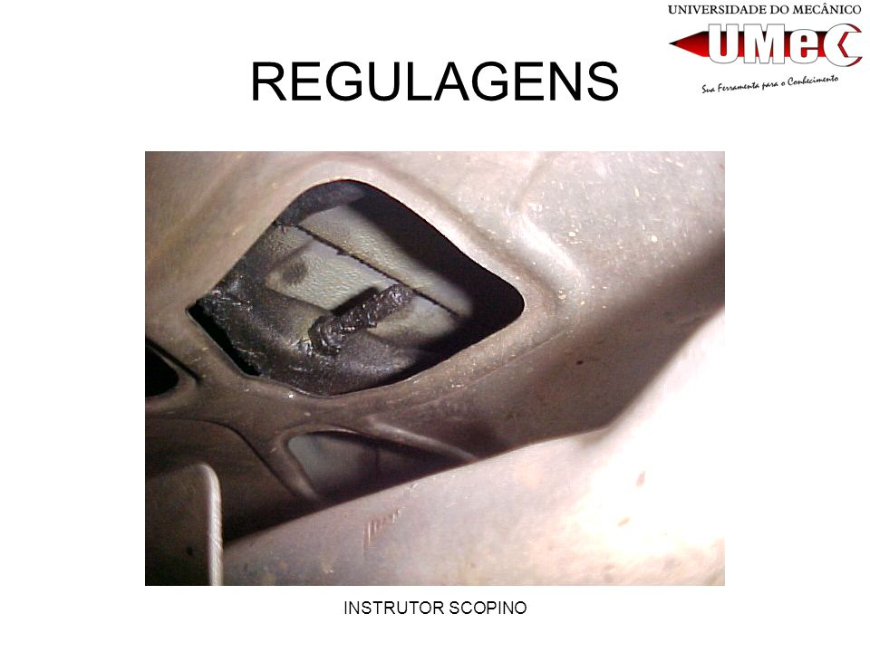 REGULAGENS INSTRUTOR SCOPINO
