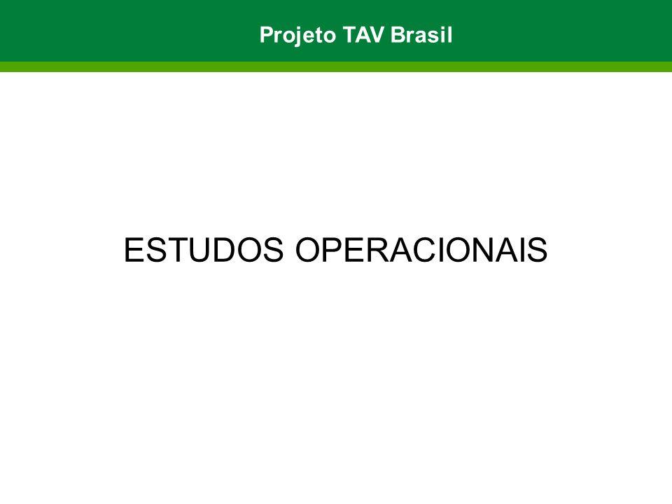 Projeto TAV Brasil ESTUDOS OPERACIONAIS